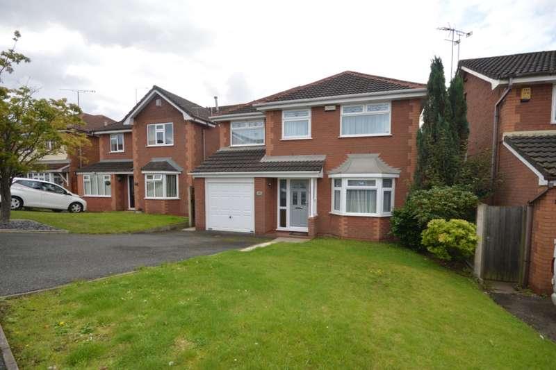4 Bedrooms Detached House for sale in Parsonage Close, Upholland, Skelmersdale, Lancashire, WN8