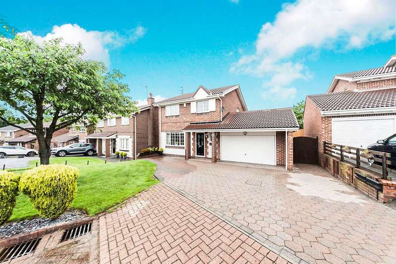 4 Bedrooms Detached House for sale in Langford Drive, The Cotswolds, Boldon Colliery, Tyne And Wear, NE35