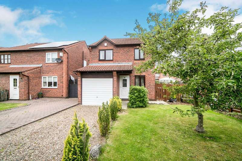 3 Bedrooms Detached House for sale in Peacock Court, Festival Park, Gateshead, Tyne And Wear, NE11