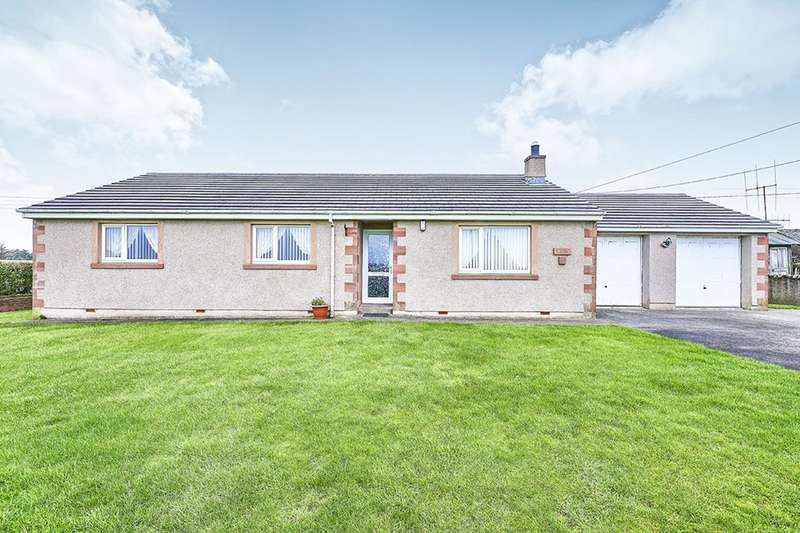 3 Bedrooms Detached Bungalow for sale in Station Road, Drigg, Holmrook, Cumbria, CA19