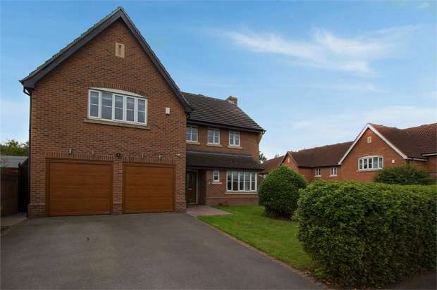 5 Bedrooms Detached House for sale in Southern Wood, Worksop, Nottinghamshire