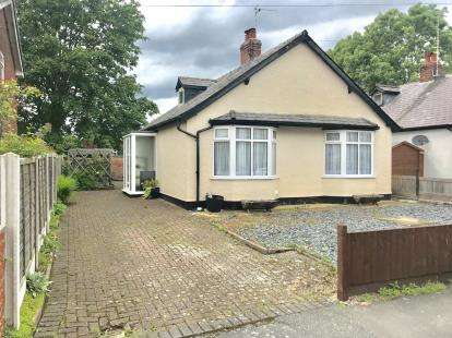 2 Bedrooms Bungalow for sale in Kingsley Road, Chester, Cheshire, CH3