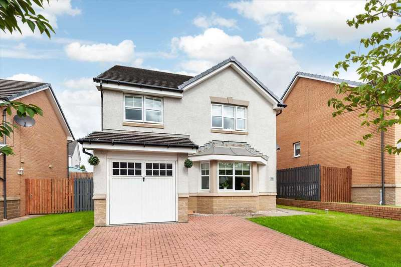 4 Bedrooms Detached House for sale in Sandalwood Avenue, Motherwell, MOTHERWELL