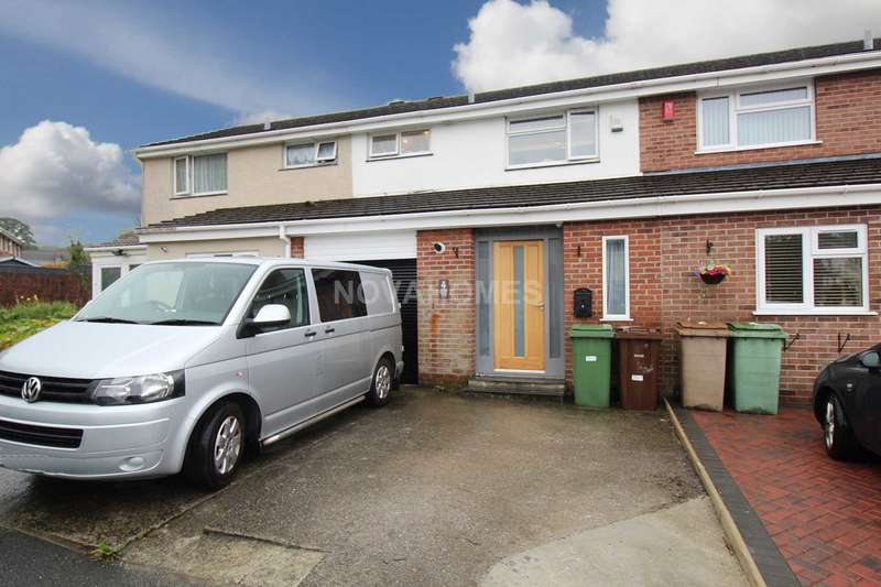 3 Bedrooms Terraced House for sale in Turbill Gardens, Plympton, PL7 2XF