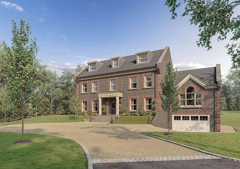 5 Bedrooms Detached House for sale in Hambledon Place, Harvest Hill, Bourne End, SL8