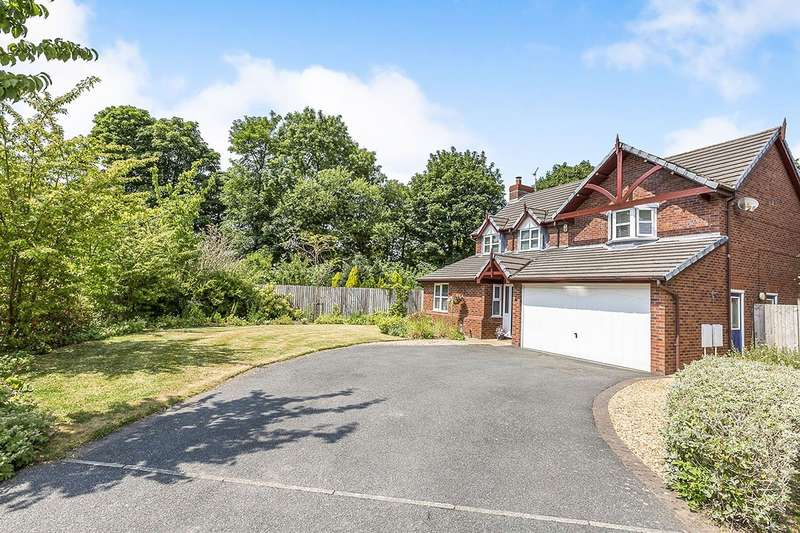 5 Bedrooms Detached House for sale in The Dingle, Heapey, Chorley, Lancashire, PR6