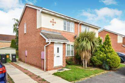 2 Bedrooms Semi Detached House for sale in Cookson Way, Brough With St. Giles, Catterick Garrison, North Yorkshire