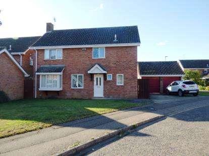 4 Bedrooms Detached House for sale in Gildale, Werrington, Peterborough, Cambridgeshire