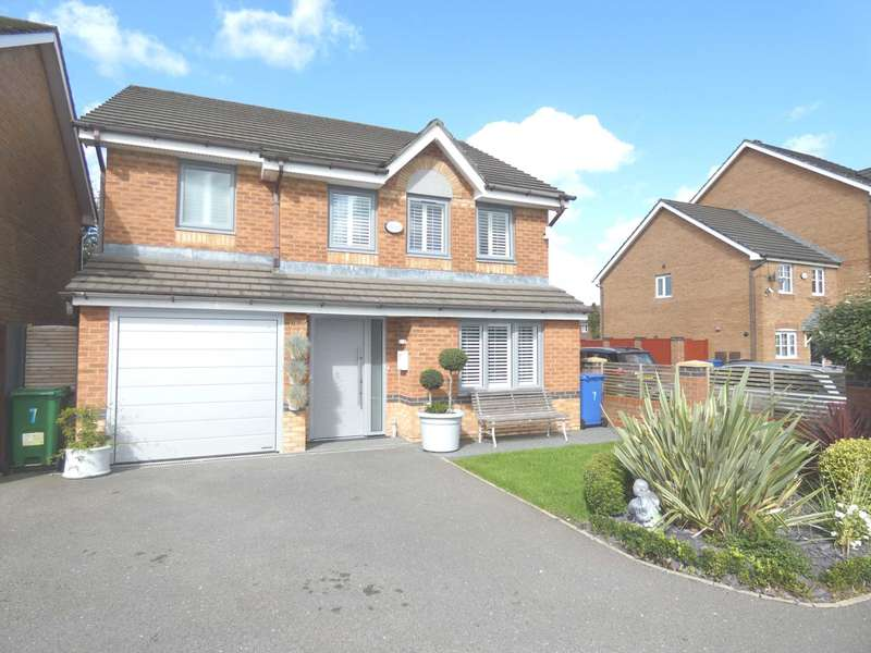 4 Bedrooms Detached House for sale in Marigold Place, Warrington