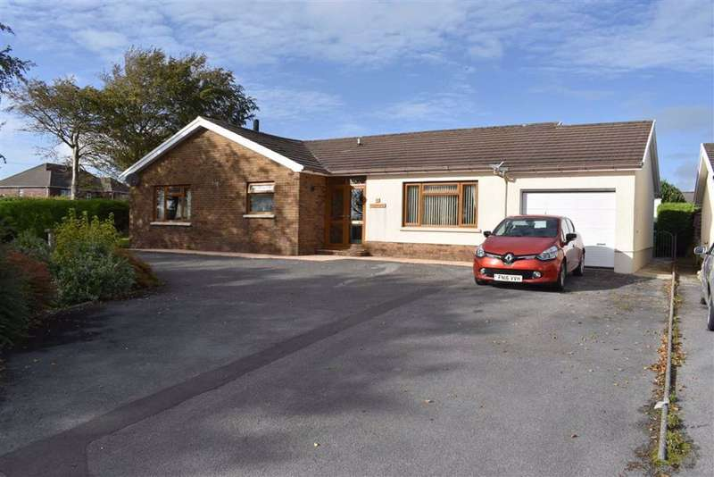 3 Bedrooms Detached Bungalow for sale in Parc Yr Ynn, Llandysul