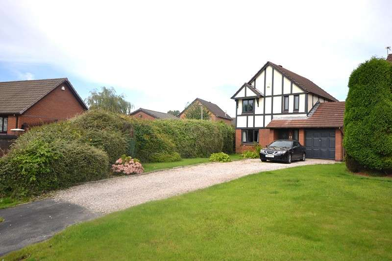 3 Bedrooms Detached House for sale in Sandfield Close, Lowton, Warrington, Lancashire. WA3 2TT
