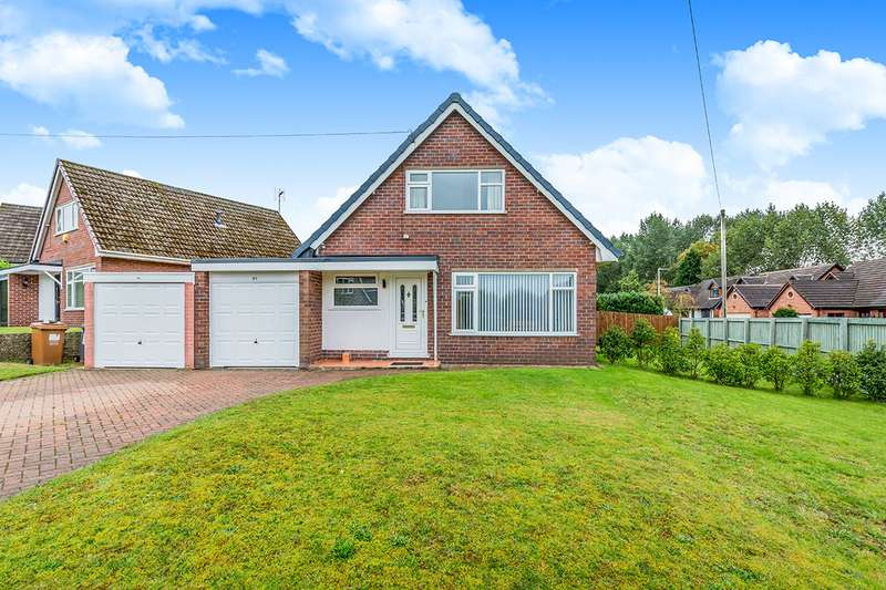3 Bedrooms Detached House for sale in Hawthorne Drive, Sandbach, Cheshire, CW11