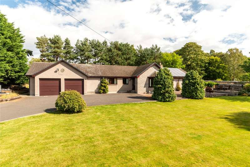 3 Bedrooms Detached House for sale in Joyphil, Whitehouse, Alford, Aberdeenshire, AB33