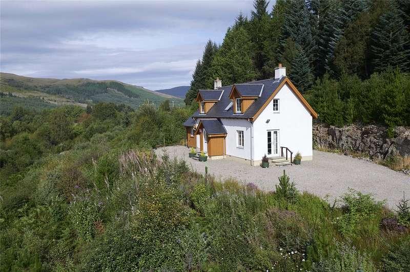 3 Bedrooms Detached House for sale in North Hill Forest Cottage - Lot 1, Silverbridge, Garve, IV23
