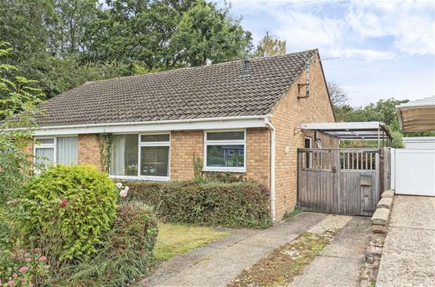2 Bedrooms Semi Detached Bungalow for sale in Springfield Drive, Bromham
