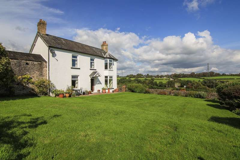 4 Bedrooms Farm House Character Property for sale in Cowbridge Road, Talygarn, Pontyclun