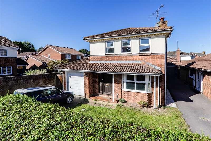 4 Bedrooms Detached House for sale in Hatchgate Copse, Bracknell, Berkshire, RG12