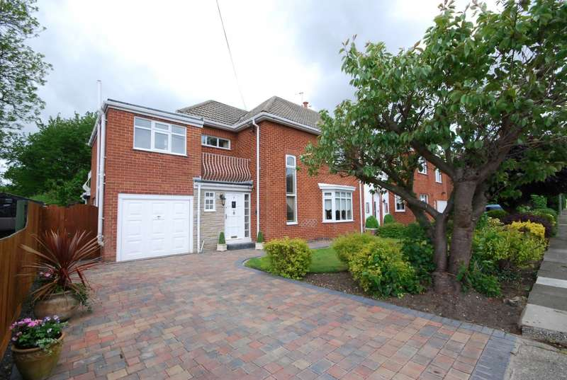 4 Bedrooms Semi Detached House for sale in Meadowfield Drive, Cleadon