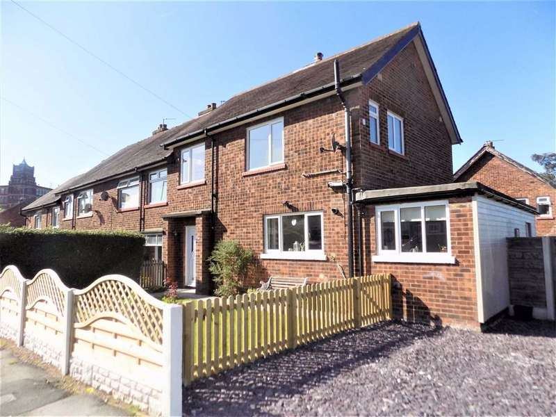 3 Bedrooms End Of Terrace House for sale in Ecclesbridge Road, Marple, Stockport