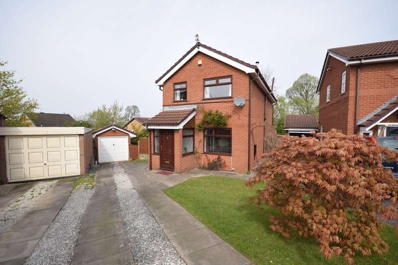 4 Bedrooms Detached House for sale in Heddon Close, Stockport, Greater Manchester, SK4