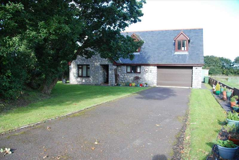 4 Bedrooms Detached House for sale in Coed Y Maes, Bangor