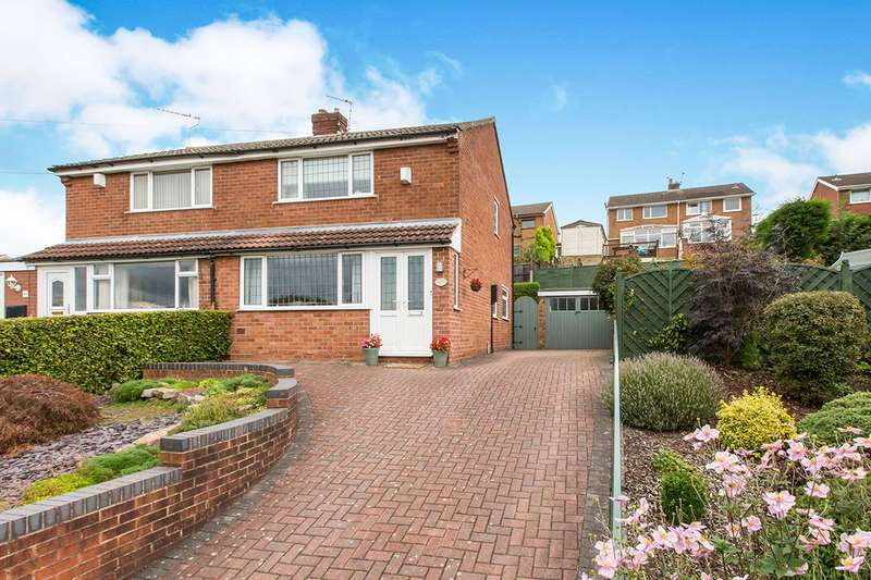 3 Bedrooms Semi Detached House for sale in Bankhouse Drive, Congleton, Cheshire, CW12