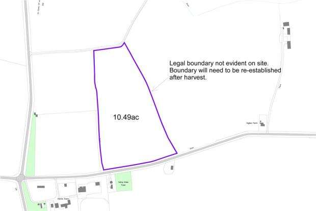 Land Commercial for sale in Land At, Brook Farm, Yelling