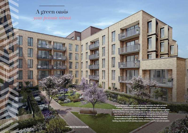 2 Bedrooms Flat for sale in Epsom House High Street Staines-Upon-Thames TW18
