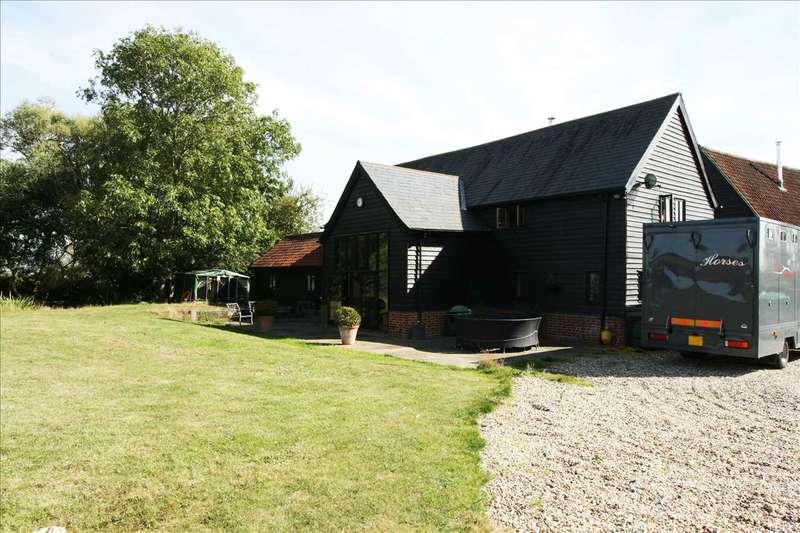 4 Bedrooms Detached House for sale in Folly Barn, New House Lane, Poslingford, Sudbury