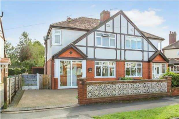 3 Bedrooms Semi Detached House for sale in St Leonard's Drive, Timperley
