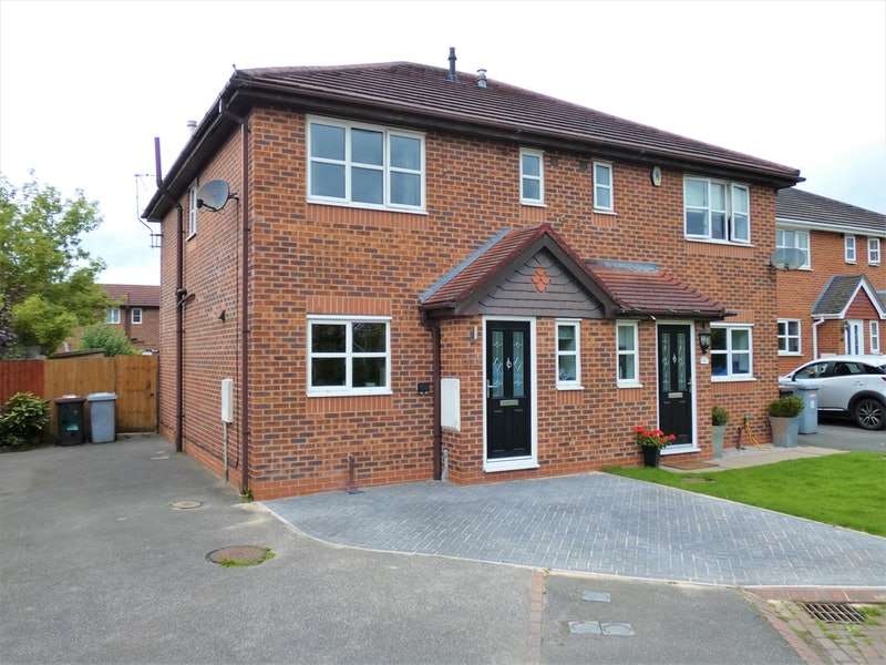 3 Bedrooms Semi Detached House for sale in Wakefield Close, Crewe, Cheshire, CW1