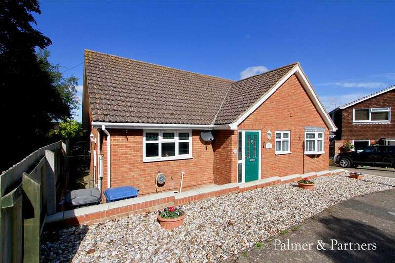 3 Bedrooms Detached Bungalow for sale in Pheasant Rise, Copdock, Ipswich, Suffolk