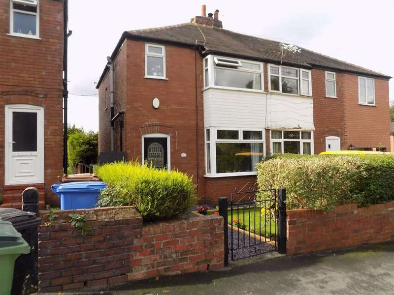 3 Bedrooms Semi Detached House for sale in West Park Road, Stockport