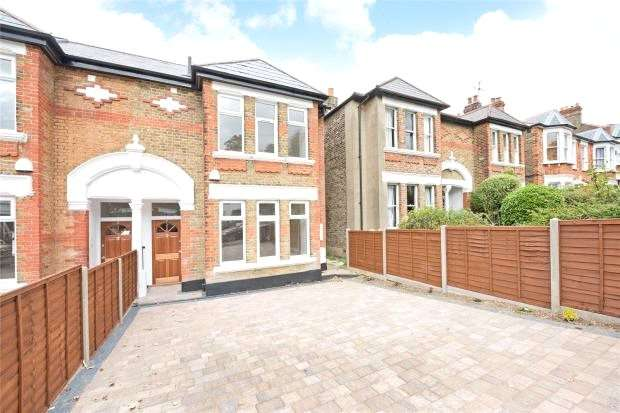 5 Bedrooms Semi Detached House for sale in Duncombe Hill, Honor Oak, London SE23