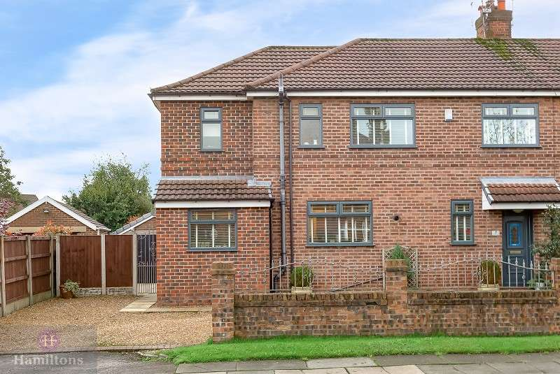 4 Bedrooms Semi Detached House for sale in Clifton Road, Pennington, Leigh, Greater Manchester. WN7 3LS