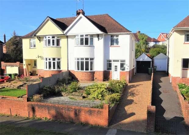 3 Bedrooms Semi Detached House for sale in Vaughan Road, Heavitree, EXETER, Devon