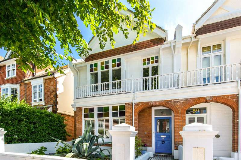4 Bedrooms Semi Detached House for sale in Carlisle Road, Hove, East Sussex, BN3
