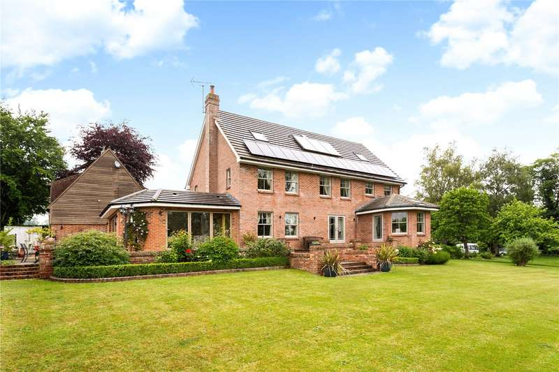 5 Bedrooms Detached House for sale in Crowood Lane, Ramsbury, Marlborough, Wiltshire, SN8