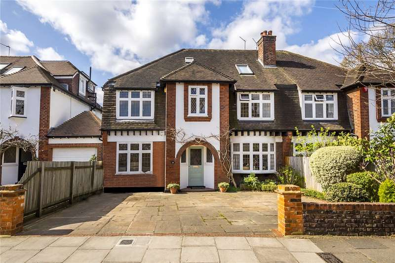 5 Bedrooms Semi Detached House for sale in Radnor Road, Twickenham, TW1