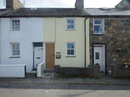 Terraced House for sale in Tai'r Lon, Nefyn, Pwllheli, Gwynedd, LL53