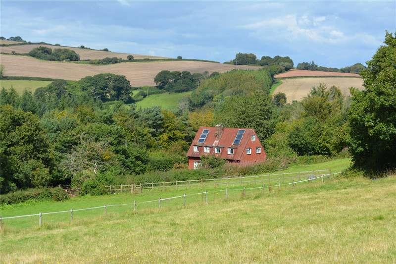 4 Bedrooms Detached House for sale in Roadwater, Watchet, Somerset, TA23