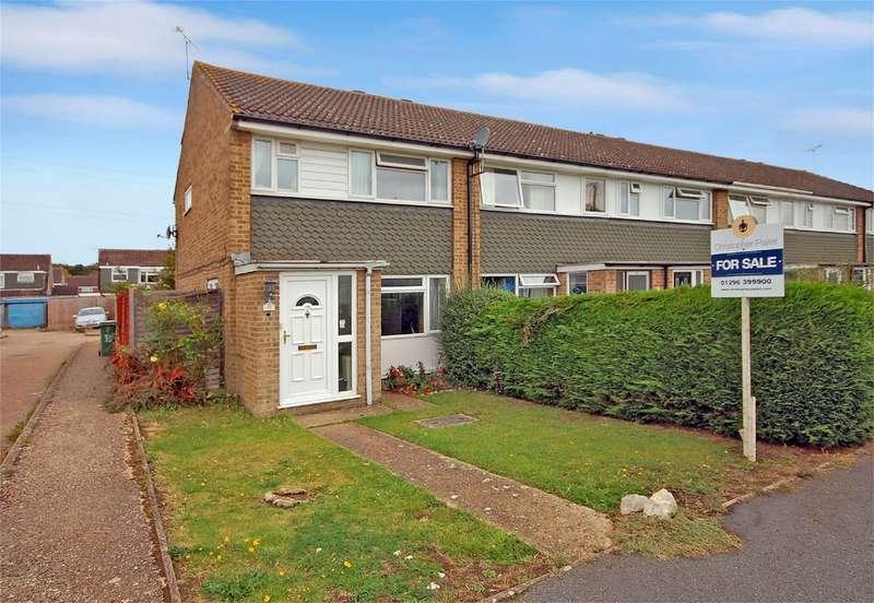 3 Bedrooms End Of Terrace House for sale in Slattenham Close, Aylesbury, Buckinghamshire
