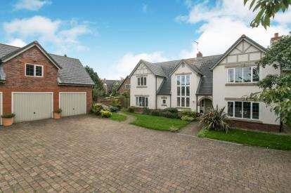 5 Bedrooms Detached House for sale in Mereworth, Wirral, Merseyside, CH48