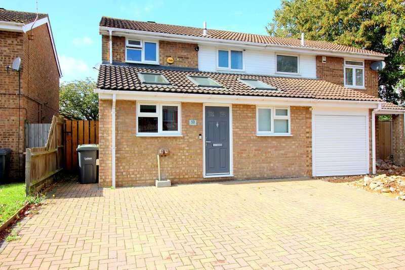 3 Bedrooms Semi Detached House for sale in Buckingham Drive, Luton, Bedfordshire, LU2 9RA
