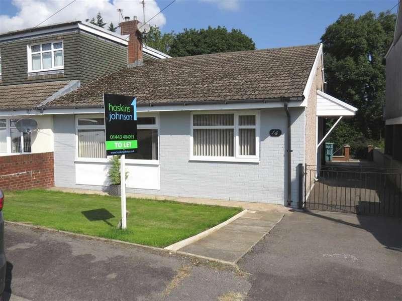 3 Bedrooms Semi Detached Bungalow for rent in Westfield Road, Pontypridd