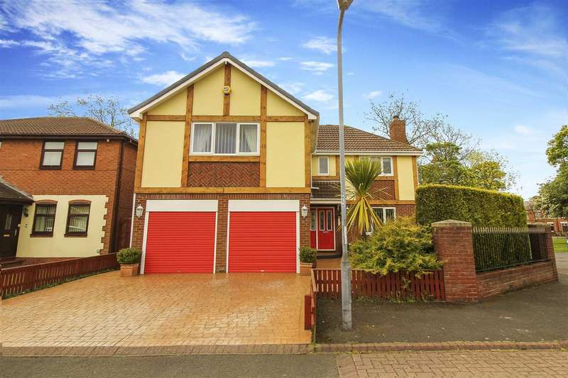 5 Bedrooms Detached House for sale in Wansbeck Mews, Ashington