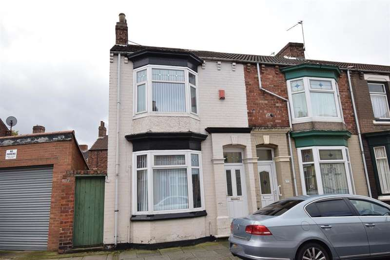 2 Bedrooms End Of Terrace House for sale in Waterloo Road, Middlesbrough, TS1 3JG