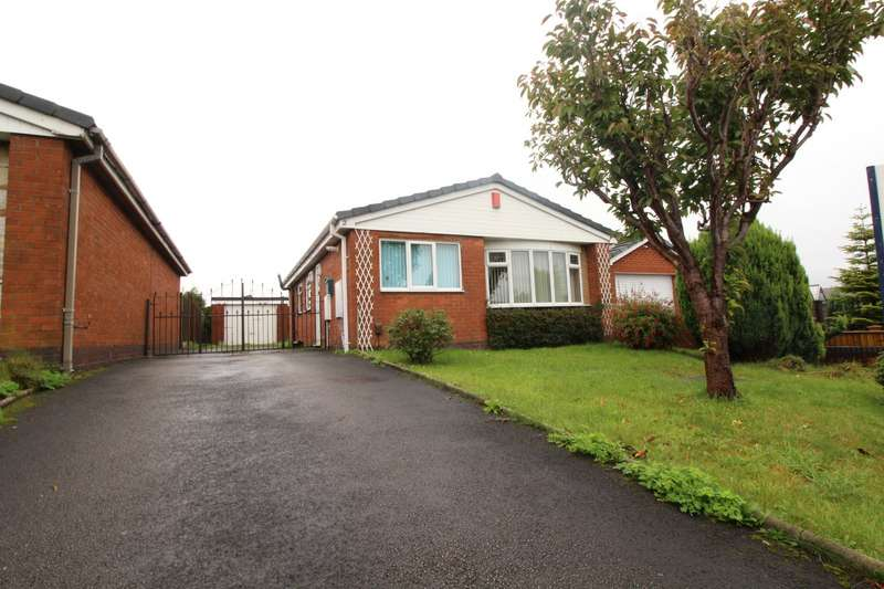 3 Bedrooms Detached Bungalow for sale in Royce Avenue, Knypersley, Stoke-on-Trent, Staffordshire, ST8