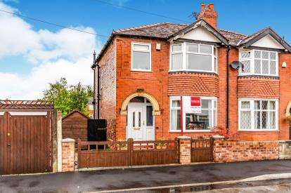 3 Bedrooms Semi Detached House for sale in Greave Road, Offerton, Stockport, Cheshire