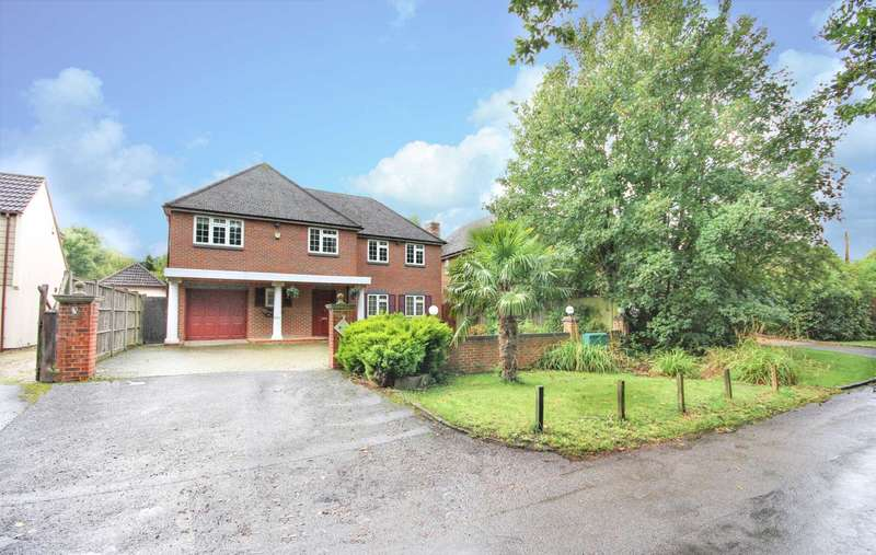 4 Bedrooms Detached House for sale in Tilehurst Lane, Binfield